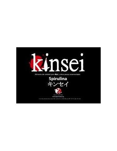 Alimento peces Kinsei Spirulina pellets 3mm estanque