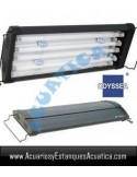 ODYSSEA T5 QUAD 120-140CM 4 X 54W + 4 LED ACUARIO MARINO