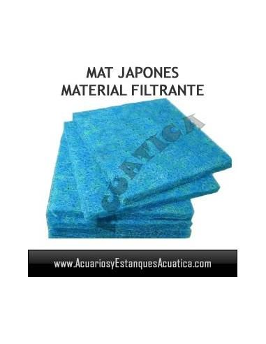 ESPONJA MAT JAPONES 1M X 1M MATERIAL FILTRANTE