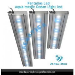 PANTALLA AQUAMEDIC OCEAN LIGHT LED 60CM 36W ACUARIOS