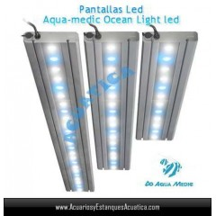 PANTALLA AQUAMEDIC OCEAN LIGHT LED 90CM 54W ACUARIOS