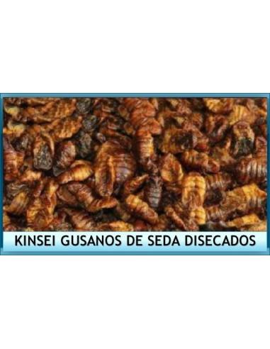Alimento peces estanque Kinsei Gusanos de Seda disecados
