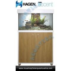 HAGEN FLUVAL ACCENT 95L ACUARIO CON MESA