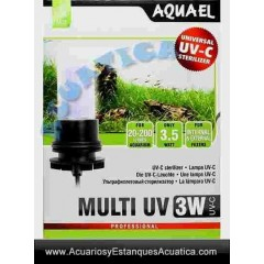 AQUAEL UV 3W LAMPARA RECAMBIO