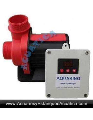 Aquaking red label anp bombas de agua estanques acuarios for Bombas de agua para estanques de peces