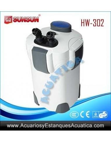 SUNSUN HW-302 FILTRO ACUARIOS EXTERNO