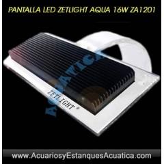 PANTALLA LED ZETLIGHT AQUA 16W ZA1201 ACUARIO MARINO