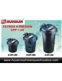 SUNSUN CPF-280 FILTRO A PRESION CON LAMPARA UV-C 11W PARA ESTANQUES