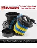 SUNSUN CPF-380 FILTRO A PRESION CON LAMPARA UV-C 11W PARA ESTANQUES