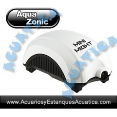 AQUAZONIC MINI MIGHT BOMBA DE AIRE ACUARIOS