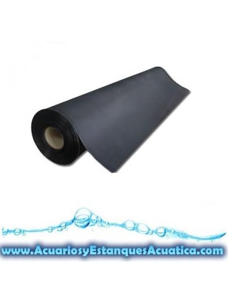 LONA CONSTRUCCION ESTANQUES CAUCHO EPDM 1,2mm