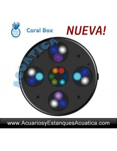 CORAL BOX MOON LED PLUS 59W PANTALLA LED ACUARIO MARINO