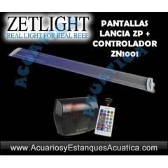 PANTALLA LED ZETLIGHT LANCIA ZP4000 + CONTROLADOR ZN1001 ACUARIO DULCE