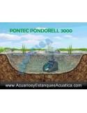 PONTEC PONDORELL 3000 UV FILTRO ESTANQUES