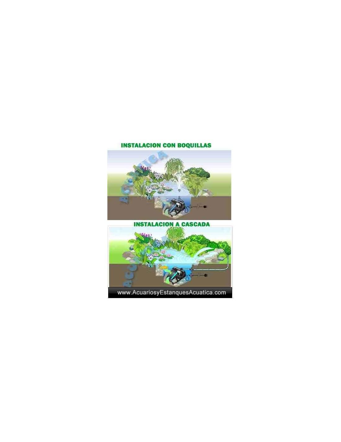 Oase filtral uvc filtro estanques for Estanque 2500 litros
