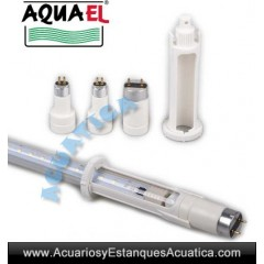 AQUAEL LEDDY TUBE RETROFIT ACTINIC TUBOS LED T8-T5 ACUARIOS