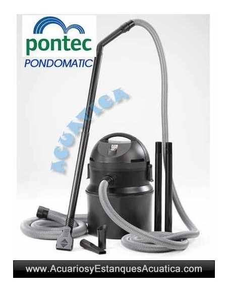 PONTEC PONDOMATIC ASPIRADOR LODOS ESTANQUES