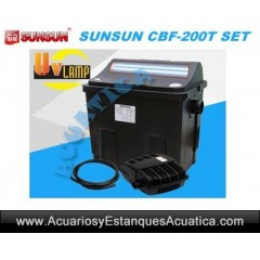 SUNSUN CBF-200T SET FILTRACION ESTANQUES