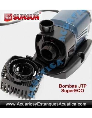 SunSun JTP-3800 SuperEco Bomba para estanques y Arroyos 3800l//h 25W Bomba para Filtro Estanque