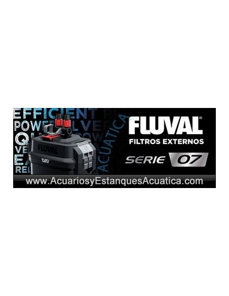 HAGEN FLUVAL SERIE 07 FILTROS EXTERIORES ACUARIOS