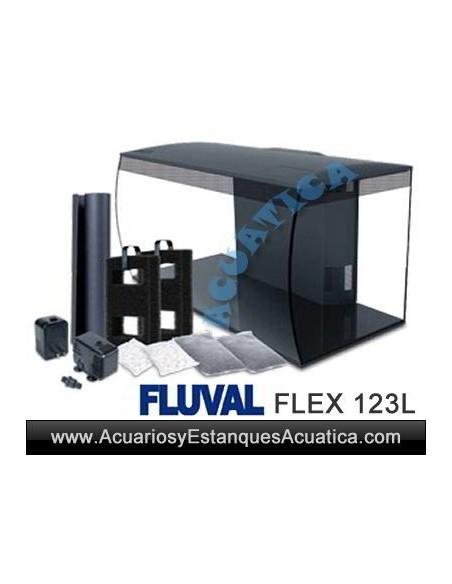 HAGEN FLUVAL FLEX 123L ACUARIO
