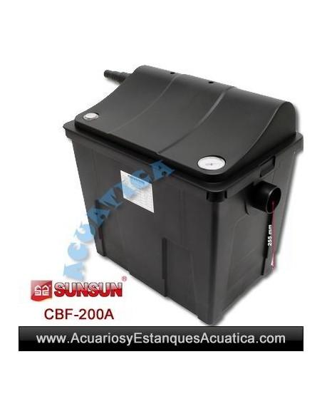 SUNSUN CBF-200A FILTRO ESTANQUES