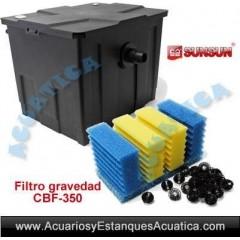 SUNSUN CBF-350 FILTRO GRAVEDAD ESTANQUES