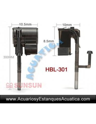 SUNSUN HBL FILTROS CASCADA ACUARIOS