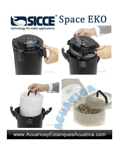 SICCE SPACE EKO FILTROS EXTERIORES ACUARIOS