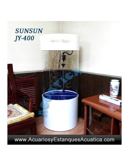 SUNSUN JY-400 100L TANQUE ACUARIO VERTICAL CIRCULAR