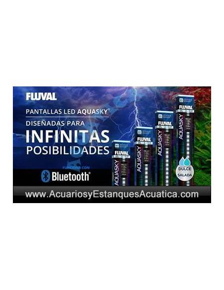 PANTALLAS FLUVAL AQUASKY LED ACUARIOS