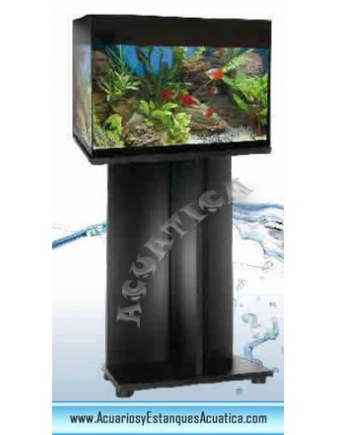 Mueble para acuarios m2545e 40 51cm aglomerado y pvc - Mueble para acuario ...